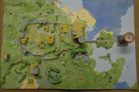 Real Life Minecraft Village